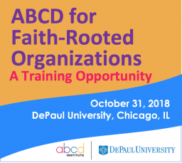 ABCD for Faith-Rooted Organizations: Training Opportunity