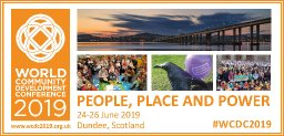 Hundreds of delegates gather in Dundee for World Community Development Conference 2019