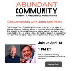 Community-Owned Health During a Pandemic with Dr. Deborah Puntenney