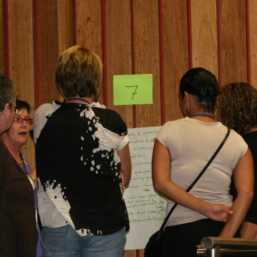 Open Space Discussion faciliated by Dee Brooks