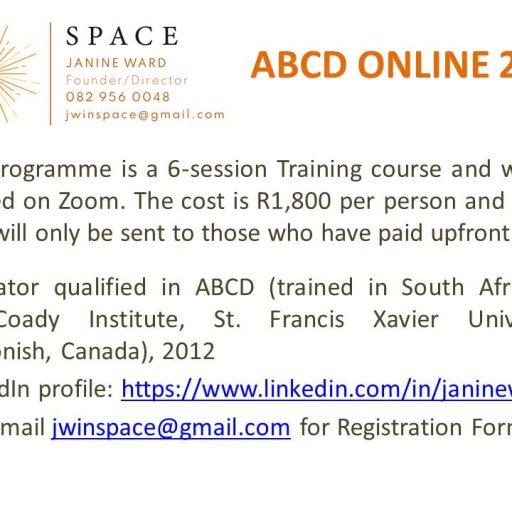ABCD ONLINE 2021